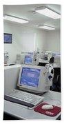 Computer Lab, C1990 Beach Towel