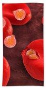 Conceptual Image Of Plasmodium Beach Towel