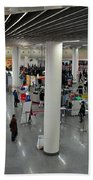 Concourse At People's Square Subway Station Shanghai China Beach Towel