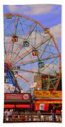 Coney Island Wonder Wheel Beach Towel