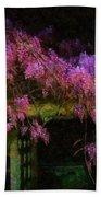 Confetti Of Blossoms Beach Towel
