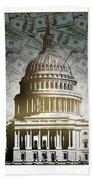 Congress-2 Beach Towel
