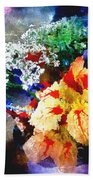 Conjuring Claude Monet Beach Towel