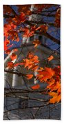 Connecticut Fall Colors Beach Towel by Jeff Folger