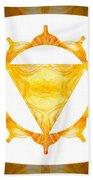 Conscious Spirituality Abstract Chakra Art By Omaste Witkowski Beach Towel