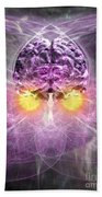 Consciousness 1 Beach Towel