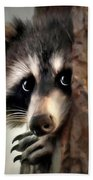 Conspicuous Bandit Beach Towel by Christina Rollo