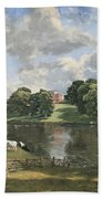 Constable's Wivenhoe Park In Essex Beach Towel