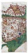Constantinople, 1420 Beach Towel