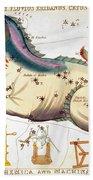 Constellation: Cetus Beach Towel