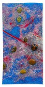 Constellation Of Aries Beach Towel by Augusta Stylianou
