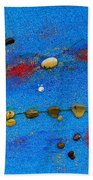 Constellation Of Pisces Beach Towel