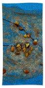 Constellation Of Taurus Beach Towel by Augusta Stylianou