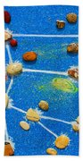 Constellation Of Ursa Major Beach Towel by Augusta Stylianou