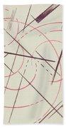 Constructivist Composition, 1922 Beach Towel