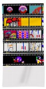 Contact Sheet Beach Towel