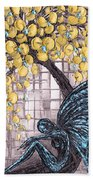 Contemplation-color Variaton Beach Towel