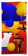 Contemporary Art Beach Towel