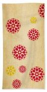 Contemporary Dandelions 1 Part 1 Of 3 Beach Towel