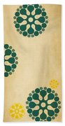 Contemporary Dandelions 1 Part 3 Of 3 Beach Towel