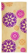 Contemporary Dandelions 2 Part 2 Of 3 Beach Towel