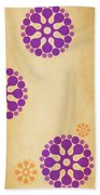 Contemporary Dandelions 2 Part 3 Of 3 Beach Towel