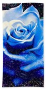 Contorted Rose Beach Towel
