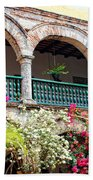 Convento De La Popa Cartagena Beach Towel