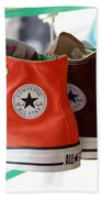 Converse Star Sneakers Beach Towel