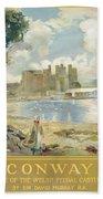Conway Castle Beach Towel