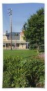Conway Scenic Railroad - North Conway New Hampshire Usa Beach Sheet