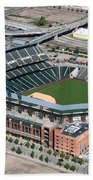 Coors Field Denver Beach Towel