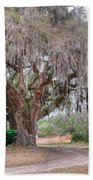 Coosaw Cross Roads With Live Oak Beach Towel