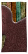Copper Man Beach Towel