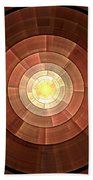 Copper Shield Beach Towel