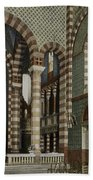 Coptic Church, Cairo, Egypt, 1906 Beach Towel by Getty Research Institute