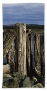 Coquille Lighthouse Oregon 3 Beach Towel