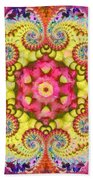 Coral Ecstacy Beach Towel