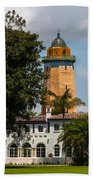 Coral Gables House And Water Tower Beach Towel