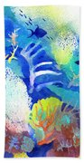 Coral Reef Dreams 3 Beach Towel