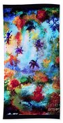 Coral Reef Impression 16 Beach Towel