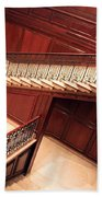 Corcoran Gallery Staircase Beach Towel