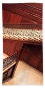 Corcoran Gallery Staircase Beach Sheet