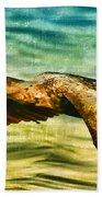 Cormorant On The Move Beach Towel
