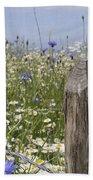 Cornflower Meadow Beach Towel