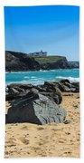 Cornish Seascape Gunwalloe Beach Towel