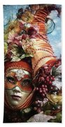 Cornucopia Beach Towel by Barbara Orenya