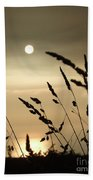 Cornwall Misty Sunset One Beach Towel