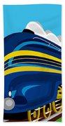 Coronation Scots Beach Towel