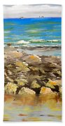 Corrimal Beach Near Towradgi Rook Pool Beach Towel
